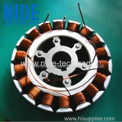 Automatic BLDC external rotor coil winding machine for wheel hub motor stator
