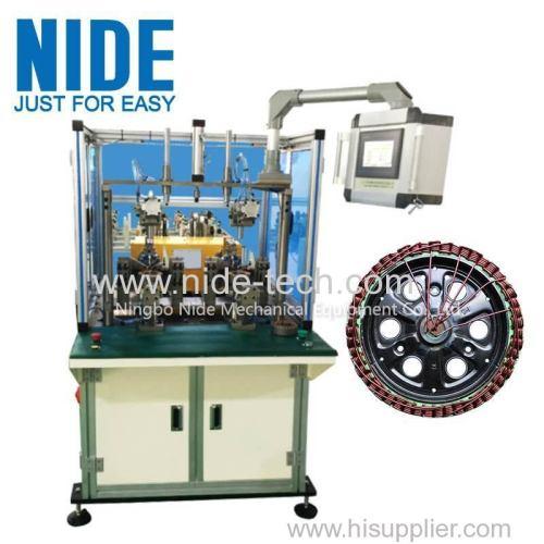 Wheel motor scooter segway winding machine