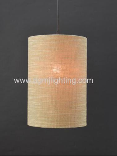 Linen Cylinder Shade D210MM
