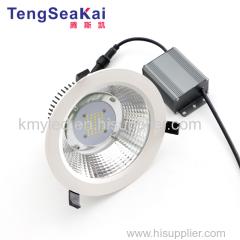"50W COB LED down light LED Downlight Triac Dim 120V 110V 240V 347V 277V CRI>90 Ra>90 80 6"" 8"" 10"" Round recessed kit"