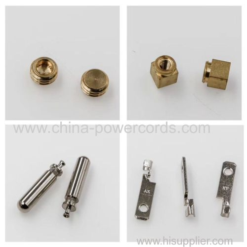 metal parts from CNC