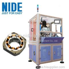 Automatic BLDC stator coil needle winding machine for brushless motor