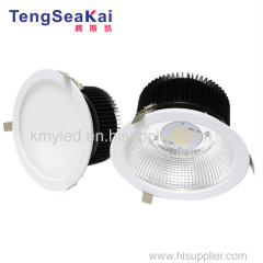 Commercial Circular Recessed LED Can Downlight IP54 8 inch dia235mm 200mm 205mm 210mm cutout 60W 80W 100W 120W 150W 200W
