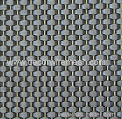 stainless steel crimped woven mesh for elevator