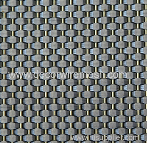 stainless steel elevator cab decor mesh