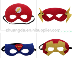 According to customer drawings custom felt mask children felt mask felt felt eye mask felt felt decoration