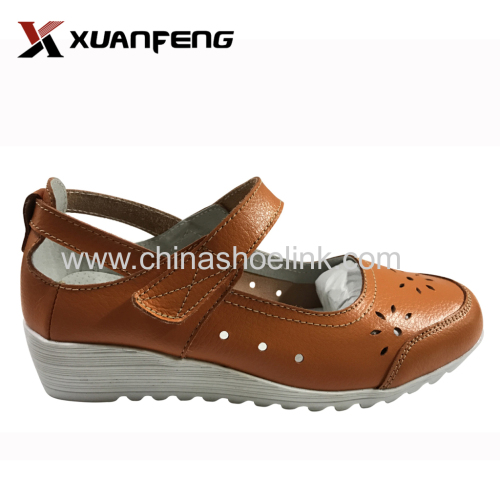 Ladies Leather Moccasins exporter for 2020 Spring/Summer