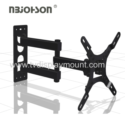 Adjustable Vertical Retractable full motion tv wall mount for 17-37 Inches TVs