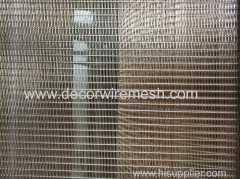 stainless steel architecture woven mesh for partition