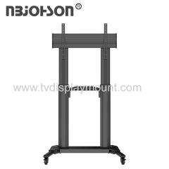 Vertically Adjustable Sliding lcd led tv stand holder up to 100 lbs VESA 600*400