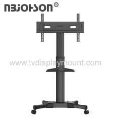 LCD LED Plasma Flat Panel Stand Mobile TV cart up to 110Ibs vesa600*400