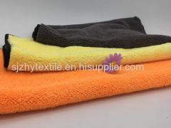 Solid Beautiful Design Coral Fleece Towel
