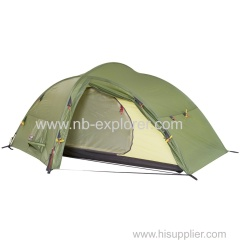 Lightweight backpacking 3-P tent