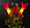Shining antlers shining antlers dragon antlers glowing toys Christmas night market street stalls selling headbands