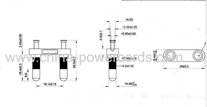 India Plug Inserts 5 08mm Pins Manufacturers And Suppliers