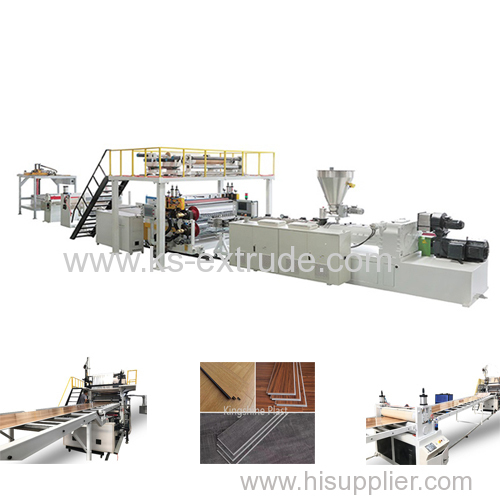 110/220 SPC Extruder Machinery