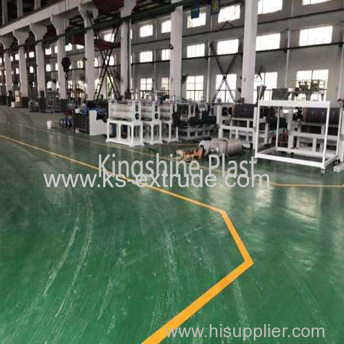 PVC WPC Crust Foam Board Machine Line