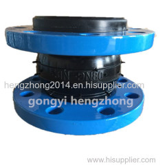 Single ball flexible rubber flexible joint/expansion joint