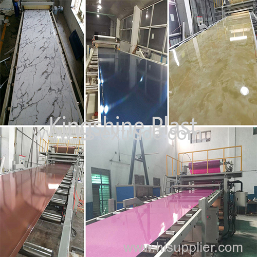 PVC Marble Sheet Extruder Machinery