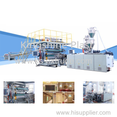 80/156 PVC Laminated Sheet Making Machine