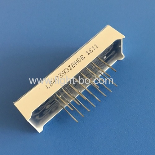 Ultra bright blue 0.39  (10mm) anode 4-digit 7 segment led display for home appliances control