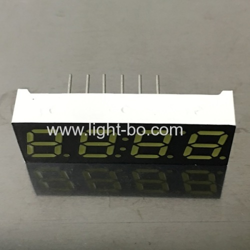 Ultra white 4 Digit 7 Segment LED Clock display 7mm common anode for STB