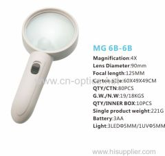 HIGH-POWER LED HAND-HELD MAGNIFIER