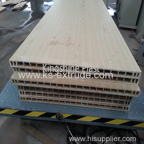 WPC Door Board Extrude Machine