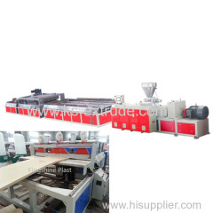PVC Door Panel Extrusion Production Making Machine Line
