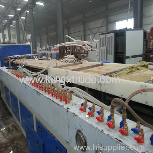 WPC Flooring production line extrusion line