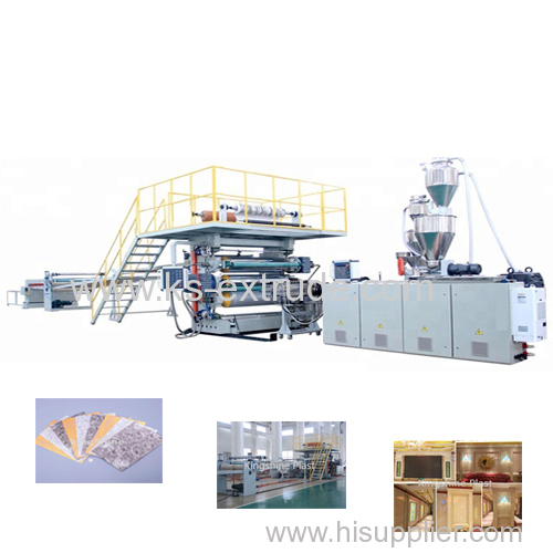 PVC Furniture Sheet Extruder Machinery