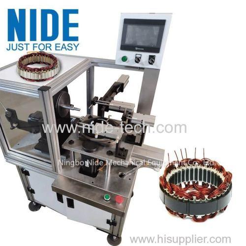автоматическая обмотка статора генератора автомобильный генератор обмотки двигателя и механическая вставка катушки для продажи