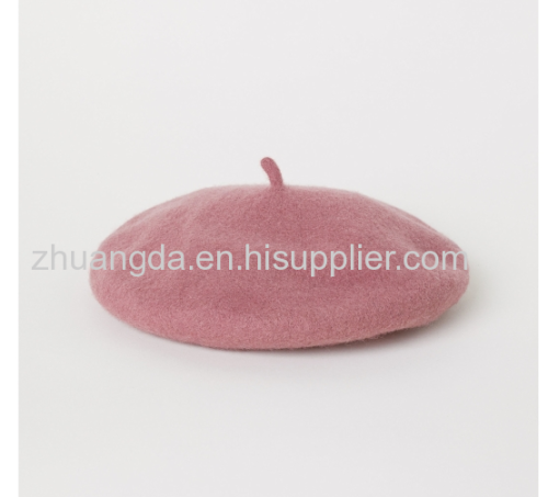 Men and women fleece and wool small wind beret newsboy hat retro octagonal hat a variety of colors and styles