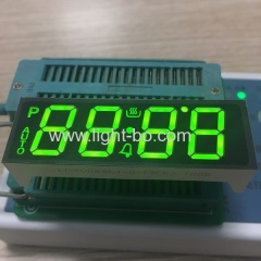 Customized 4 Digit Super Green 7 Segment LED Display for oven timer control