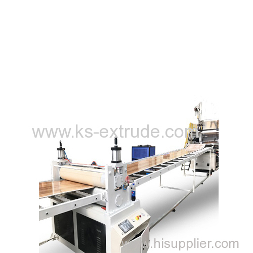SPC Stone Floor Production Extrude Line