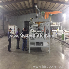 110/220 SPC horizontal high capacity Extrusion Line