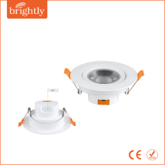 15W CCT 3000/4000/6000K color changeable LED Downlight