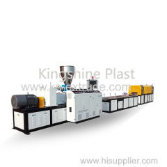 WPC Profiles Machine /Production Line /wpc decking and door frame making machine