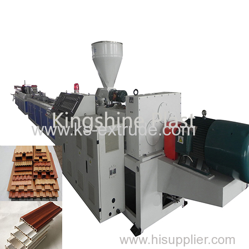 WPC profile board making machine
