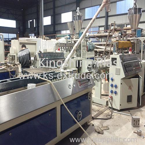 WPC profile board making machine