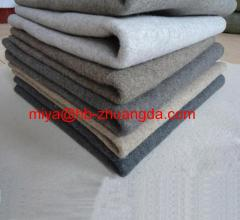 black-white grey ciliated felt