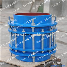 Gland type limit expansion joint