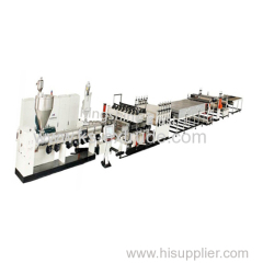 KS120-90 PP hollow template board machine