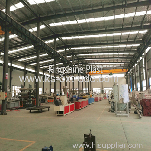 PP Hollow Construstion Board Making Line