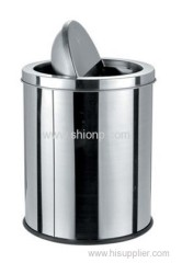 30L Flip-lid Stainless steel dust bin