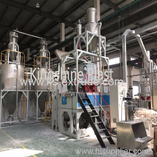 PVC Plastic High and Low Mixing Machine