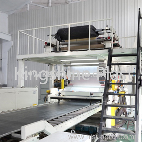 SPC Furniture Stone Floor Extruder Machine