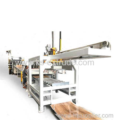 SPC PVC Floor Making Machine