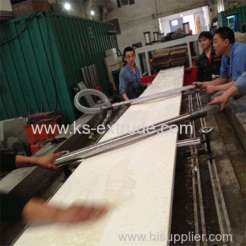 WPC Door Board Production Making Machine