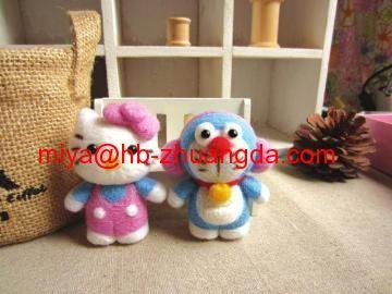 Wool felt handicraft products